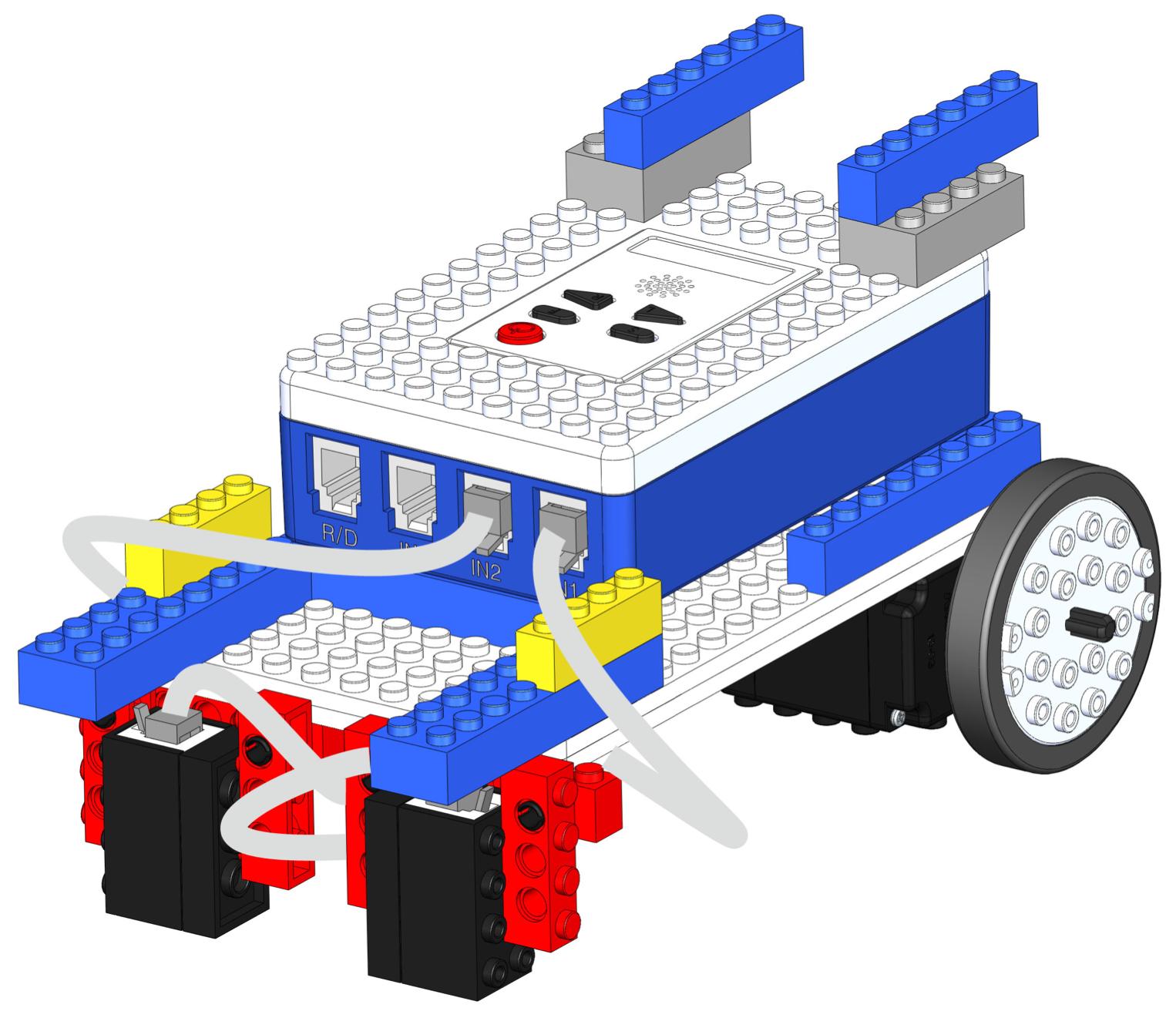 Line Tracer Bot